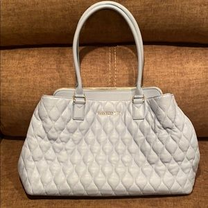 Vera Bradley Quilted Emma Leather Tote